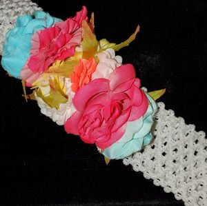 Very cute girly Head bands lot of 11